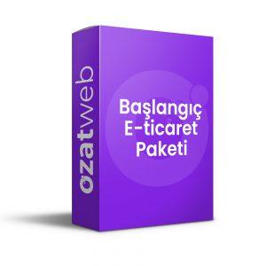 Ozatweb E-ticaret-Başlangıç